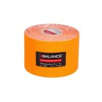 Кинезио тейп BBTape 5см × 5м флуоресцентный оранжевый