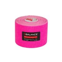 Кинезио тейп BBTape 5см × 5м флуоресцентный розовый