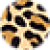 Набор кинезио тейпов для лица 2,5 см × 10 м леопард